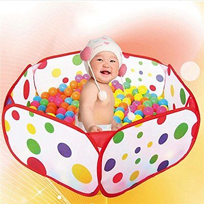Kids Ocean Ball Pit Pool Playhut Foldable Portable Outdoor Indoor Child Toy Tent