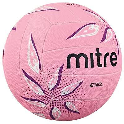 Mitre Pink Attack Netball Size 5