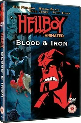 Hellboy Blood And Iron Animated DVD Phil Weinstein Original UK Rel New Sealed R2
