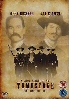 Tombstone The Directors Cut DVD Kurt Russell Val Kilmer UK Release New Sealed R2