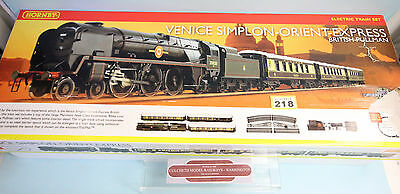 Hornby 'oo' Gauge R1087 'venice Simplon Orient Express' Train Set Boxed #218