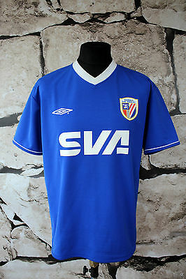 UMBRO  _ China League Shanghai shenhua  HOME FOOTBALL SHIRT JERSEY SIZE L  (147)