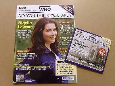 Who Do You Think You Are Magazine #11 - July 2008 - Nigella Lawson + Free Cd
