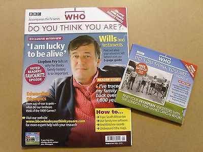 Who Do You Think You Are Magazine #9 - May 2008 - Stephen Fry + Free Cd