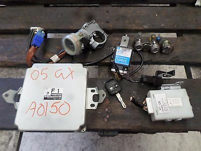 Subaru impreza ignition barrel & lock set ecu body control module GD9 2005 2.0L