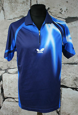 Butterfly Table Tennis T-Shirt, Size S (EUR XS) blue /Black Timo Boll ( 612)