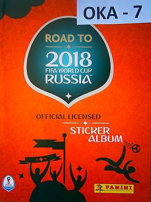 New Completed Panini Road To World Cup FIFA 2018 Russia With 486 Stickers