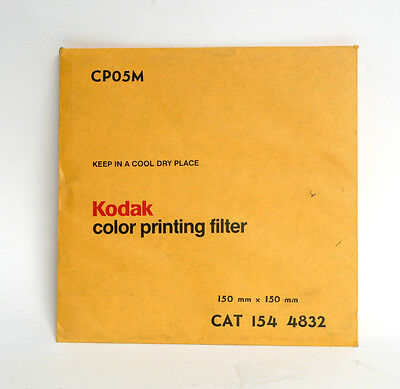 Kodak 150mm x 150mm CP05M Colour Printing Filter