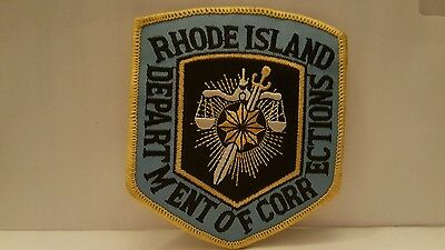 Police Department  Rhode Island Department Of Corrections Color Patch