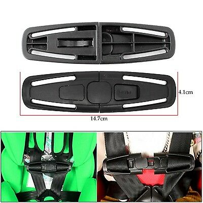 Secure Seat Belt Lock Sicherheits-Lock-Seat Harness Knoten Car Safety Seat Strap