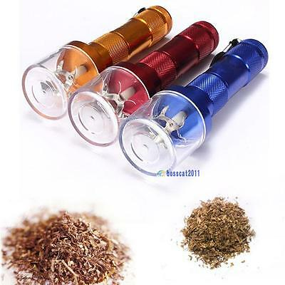 Electric Aluminum Metal Grinder Crusher Crank Tobacco Smoke Spice Herb Muller DB