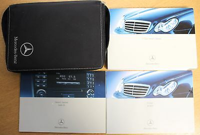 Mercedes C Class Owners Manual Handbook Wallet 2000-2004 Pack 13828 !