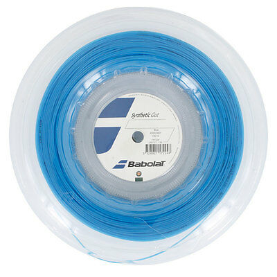 BABOLAT Synthetic Gut 200M REEL 16/1.30 - BLUE
