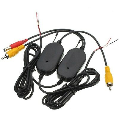 2.4G Wireless Video Transmitter & Receiver for Car Backup Camera Monitor U6P4