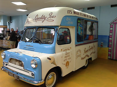 1960s Bedford ice cream van vintage