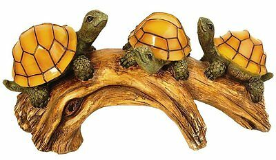 Turtle Statue Garden Solar Light LED Decor Patio Yard Deck Art Lawn Outdoor New