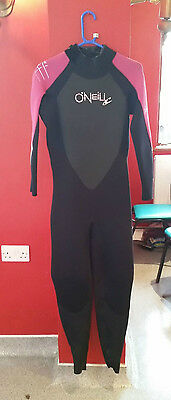 O'Neill Ladies Full Wetsuit Bahia size 14 2/3mm