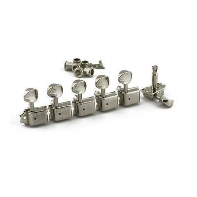 Kluson Traditional 6 In Line Tuners With Double Line Stamp