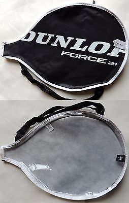 Dunlop Force 21 Tennis Racket Cover Bag 40x27cm Black
