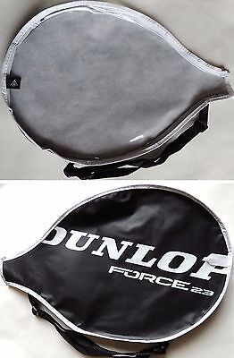Dunlop Force 23 Tennis Racket Cover Bag 45x29.5cm Black