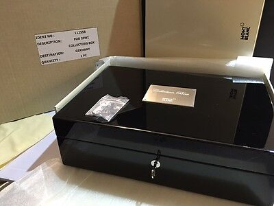 Montblanc Meisterstuck Lacquer Collectors Box For 20 Pens #112558 - Sealed