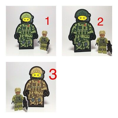 Custom Tactical Lego Army Military Morale Unique  Patch