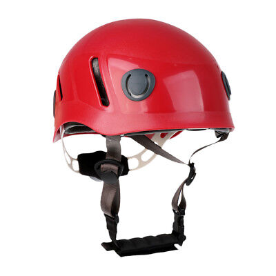 Ventilated Rock Climbing Mountaineering Hard Hat Safety Helmet