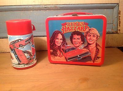 vintage lunch boxes the dukes of hassard 1980
