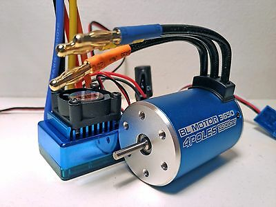 RC car Brushless system esc & motor for 1/10 scale fits Traxxas HPI tamiya losi