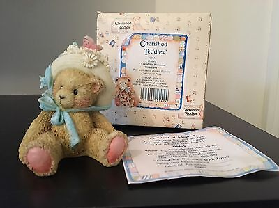 Cherished Teddies - 'Daisy' - Friendship Blossoms With Love 1992 In Box