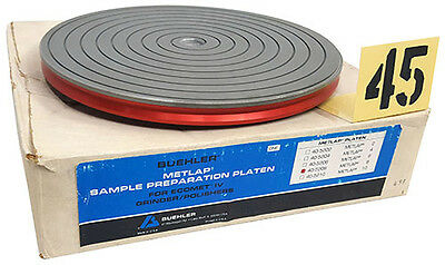 Buehler Metlap 40-5208 12-inch Grinding Plate for Lapper Polisher  Tag #45