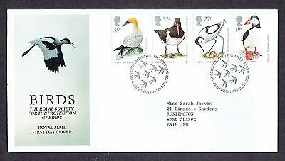 Great Britain - 1989 - Birds, Scott# 1239-42, Combo Cover