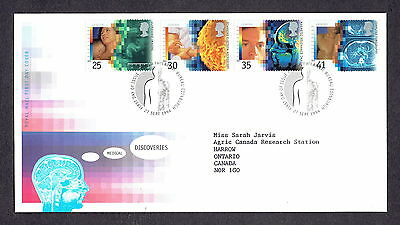 Great Britain - 1994 - Medical Discoveries, Scott# 1577-80, Combo Cover