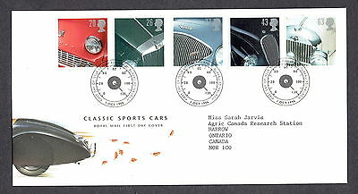 Great Britain - 1996 - Classic Sports Cars, Scott# 1703-07, Combo