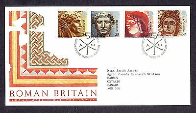 Great Britain - 1993 - Roman Britain, Scott# 1502-05, Combo Cover