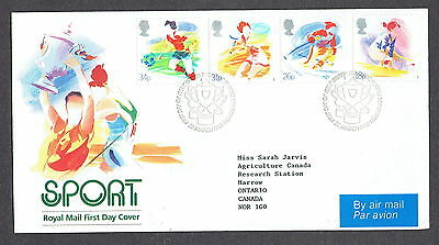 Great Britain - 1988 - Sport, Scott# 1209-12, Combo Cover