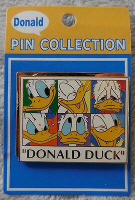 Disney Pin Japan Donald Duck 60th Birthday Six Faces Pin LE