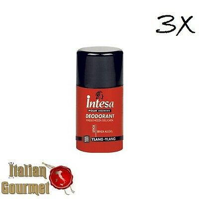 3 Intesa YLANG YLANG POUR HOMME Deodorant Deo Stick Deostick 75 ml