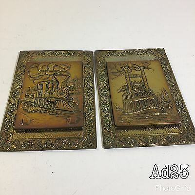 A Pair of Copper Press picture etching pictures