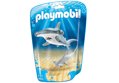 playmobil N° 9065 * Hammerhai & Baby * viele Zootiere PLAYMOBIL ZOO schwimmbar