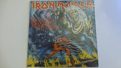 IRON MAIDEN.Number of the Beast Vinyl LP.Autographed.Original Dutch Issue 1982
