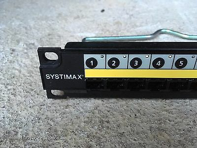 Patch panel SYSTIMAX iPatch 1100GS3 24-Port GigaSPEED XL Cat6 UTP