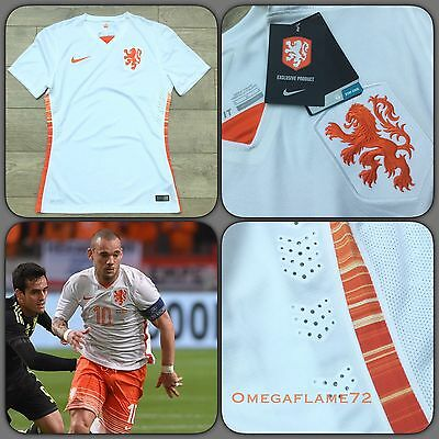 Nike Holland Player Issue Football Shirt Laser Cut Sz Medium Soccer Jersey