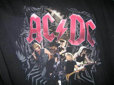 AC/DC X Large T Shirt Black Ice Tour 08/09