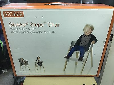 New Stokke Steps Chair Natural Baby Seat Transformable Children's Chair 349701