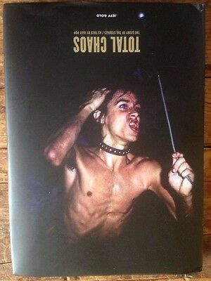 TOTAL CHAOS: IGGY POP Story of the Stooges Hardcover Book * Rock * Punk * Music