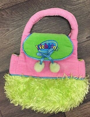 Webkinz Animal Purse Carrier Pink And Green