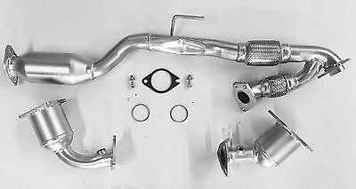 Fits 2009 2010 2011 Nissan Murano 3.5L V6 D/S P/S Rear Catalytic Converter Set