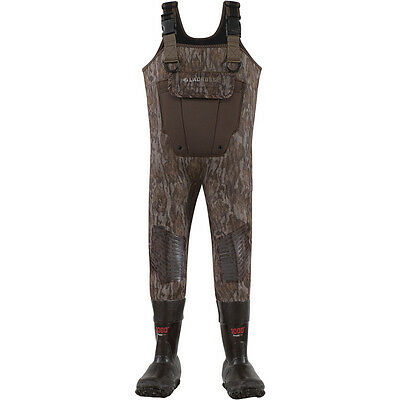 LaCrosse 700319 Youth Mallard II Mossy Oak Bottomland 1000G Insulated Waders