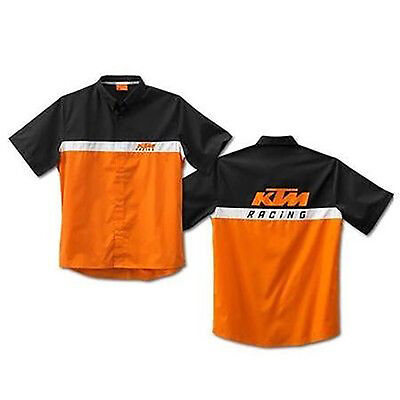 Official KTM Powerwear 3PW1357203 TEAM SHIRT M With Free Shipping